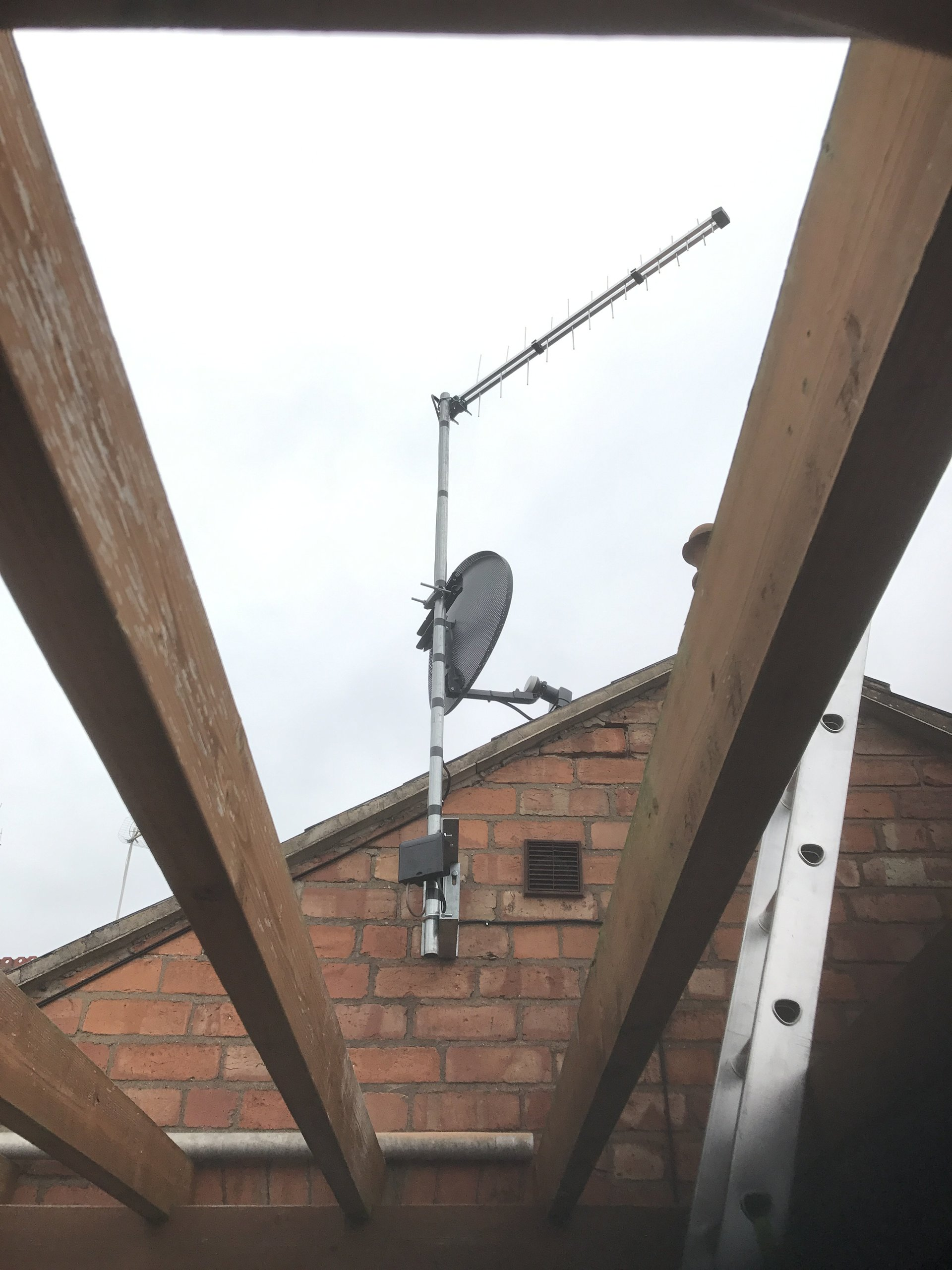 Satellite installs in Worcester