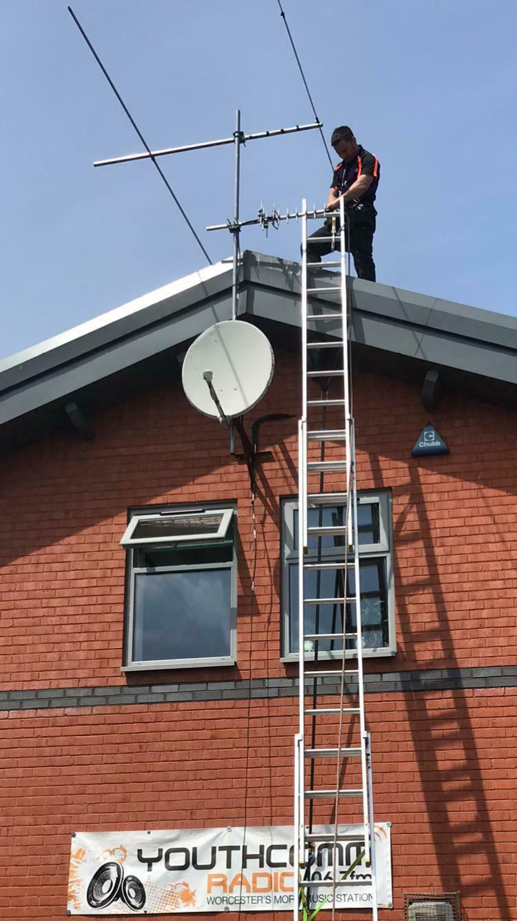Satellite installs in Worcester